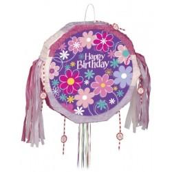 Pinata anniversaire fleuri