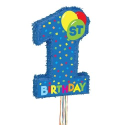 Pinata anniversaire 1 an garçon