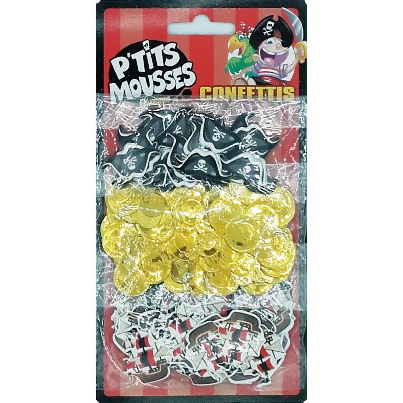 Pack confettis pirates