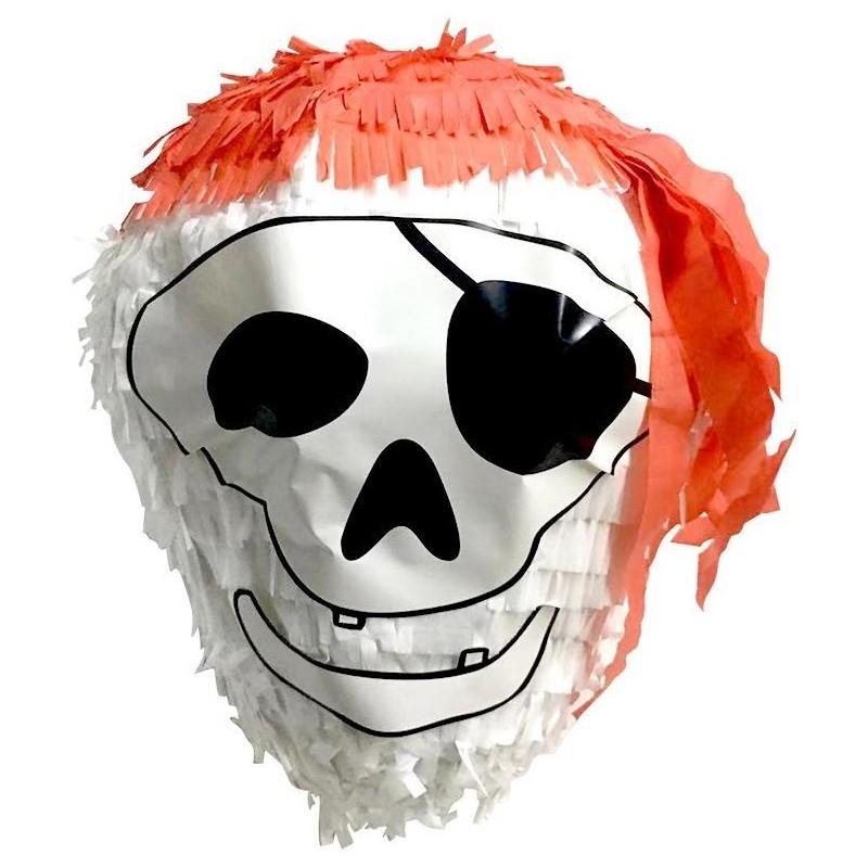Pinata pirate tête de mort
