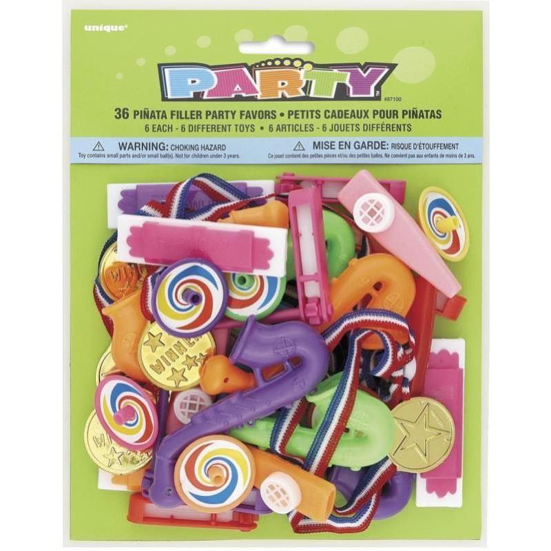 Set de remplissage 36 jouets pour piñata