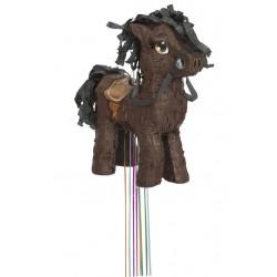 Pinata poney brun 3D