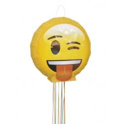 Pinata à tirer emoji 40cm