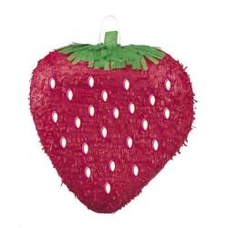 Pinata fraise géante
