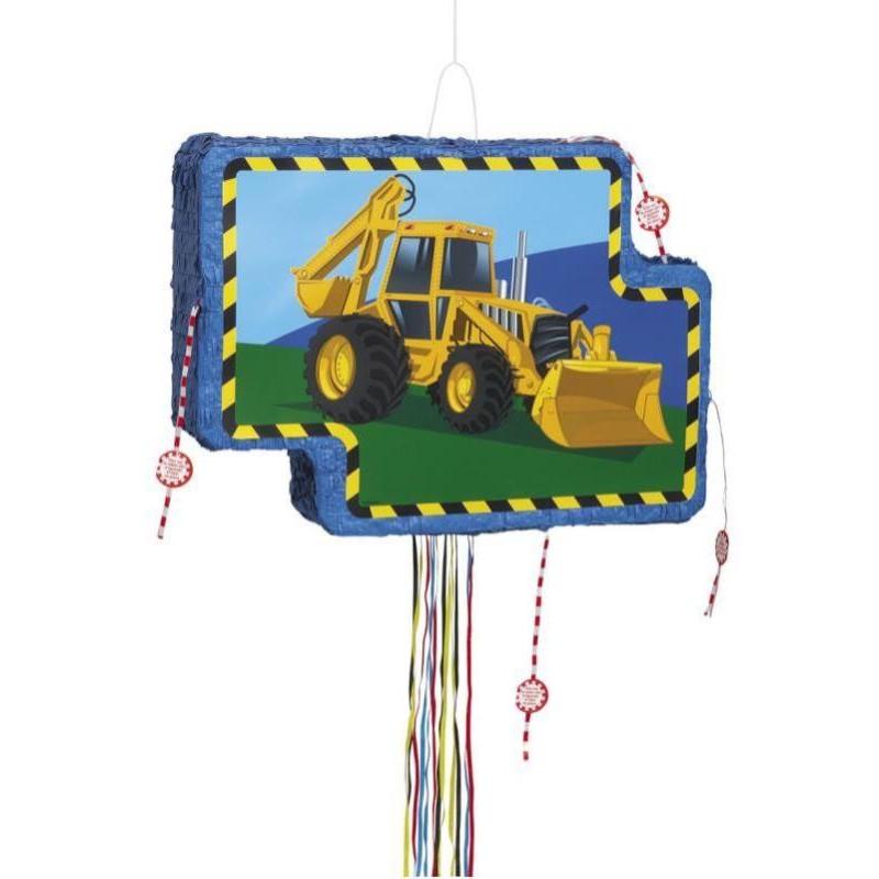 Pinata véhicule de construction