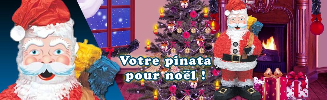 Pinata Père Noël : le cadeau de Noël pour enfants !